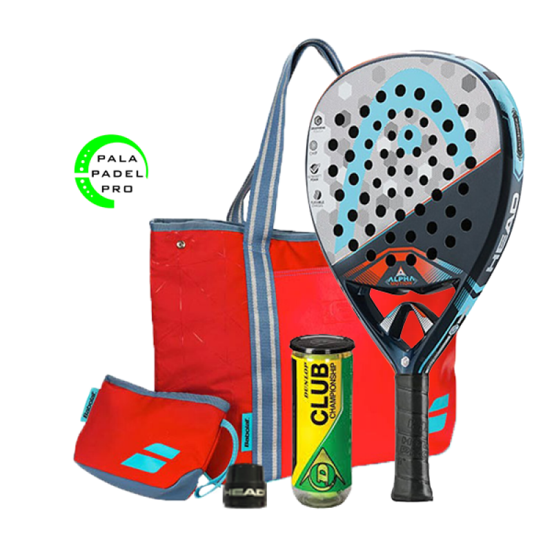 PACK: HEAD GRAPHENE TOUCH ALPHA MOTION + BOLSO BABOLAT FIT PÁDEL
