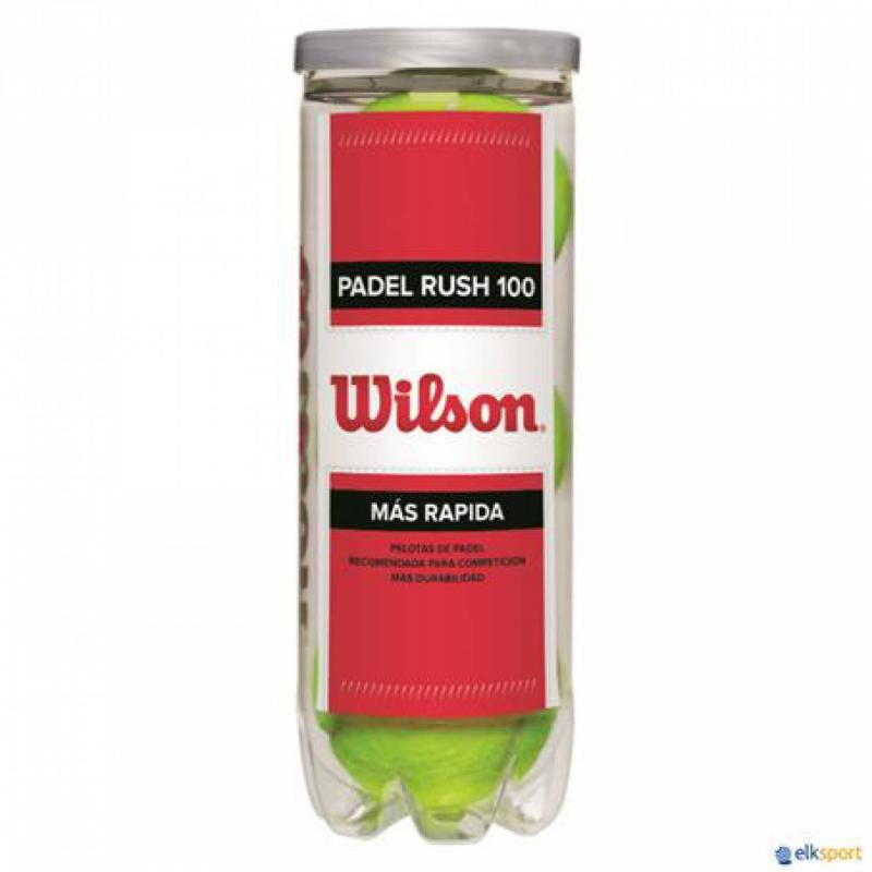 BOTE DE BOLAS WILSON RUSH 100