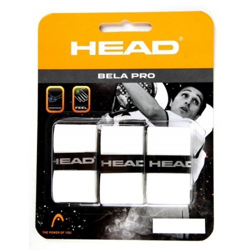 BLISTER 3 OVERGRIPS HEAD BELA PRO BLANCO