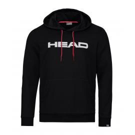 SUDADERA HEAD CLUB BYRON BLACK-WHITE
