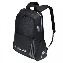 MOCHILA HEAD ALPHA SANYO BLACK WHITE