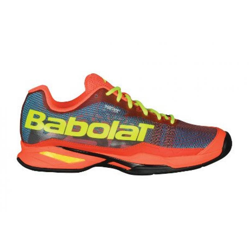 ZAPATILLAS BABOLAT JET TEAM PADEL 2018 BLUE-ORANGE