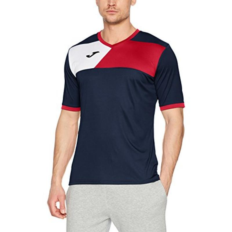 f55c4c5ba26e0 Camiseta Joma Crew II Marino Rojo - Pala Padel Pro